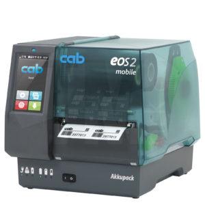Термотрансферный принтер cab EOS2 mobile со съёмной батареей 24 В