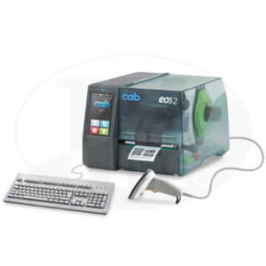 Термотрансферный принтер cab EOS2 для этикеток, бирок, трубки