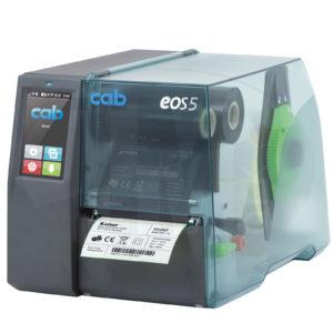 Термотрансферный принтер cab EOS5 для этикеток, бирок, трубки
