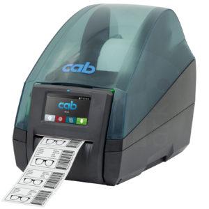 Принтер cab Mach4S для этикеток, бирок, трубки