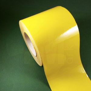Этикетки из светло-жёлтого глянцевого полиэстера 2250