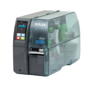 Термотрансферный принтер cab SQUIX 2 для печати узких этикеток
