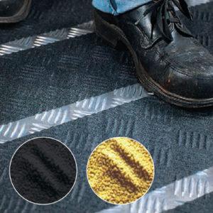 Применение лент противоскольжения для неровных поверхностей 3M Safety-Walk 510, 530