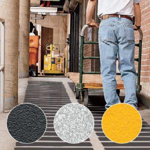 Применение универсальных лент противоскольжения 3M Safety-Walk 610, 613, 620, 630