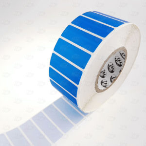 Пломба наклейка синяя OPEN VOID 6013