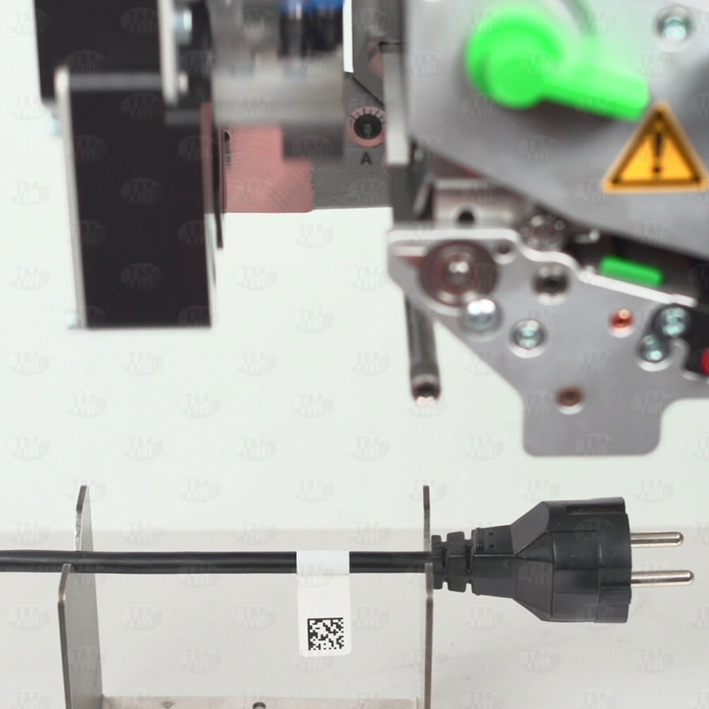 Принтер-аппликатор cab 4712 маркировка провода флажком