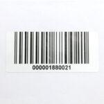 Этикетки 60*25 мм со штрих-кодом