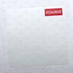 Этикетки 80*80 мм с частичной печатью логотипа