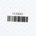 Этикетки 20*40 мм из полиэстера со штрих-кодом