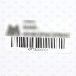 Этикетки 50*25 мм со штрих-кодом и логотипом
