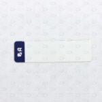 Этикетки 40*10 мм с предпечатью логотипа
