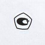 Этикетки диаметром 25 мм с логотипом