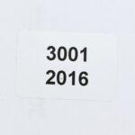 Заказные этикетки 16*38 мм с серийным номером