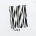 Этикетки со штрих-кодом 30*20 мм