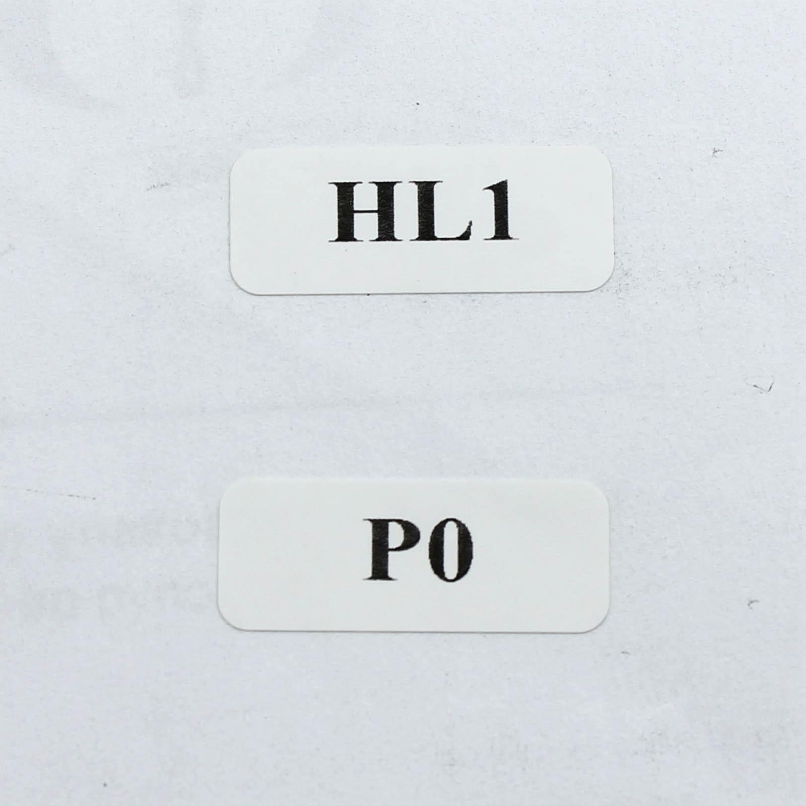 Этикетки 25*10 мм с нумерацией