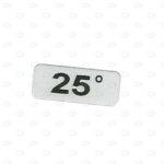 Этикетки 20*8 с градусами