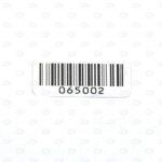Высокотемпературные этикетки 20*8 мм со штрих-кодом