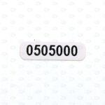 Высокотемпературные этикетки с нумерацией