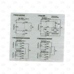 Этикетки 107*95 мм для электрооборудования