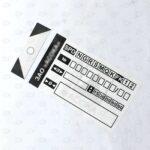 Этикетки 100*50 мм преднапечатанные