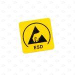 Знаки безопасности 20*20*20 мм знак ESD