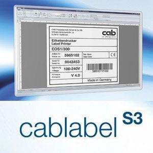 Программное обеспечение cablabel S3