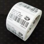Этикетки белые матовые из полиэстера 3016