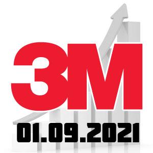 3М рост цен с 01.09.21