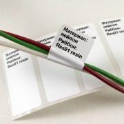 Нейлоновая этикетка для маркировки провода флажком